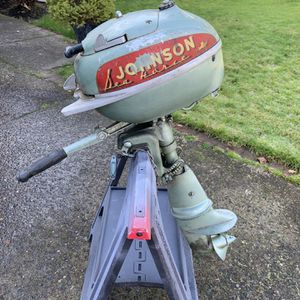 Vintage Johnson 5 HP Seahorse Outboard Motor for Sale in Tualatin, OR