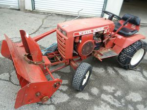 1973 Wheel Horse lawn tractor with snow blower for Sale in Pickerington, OH