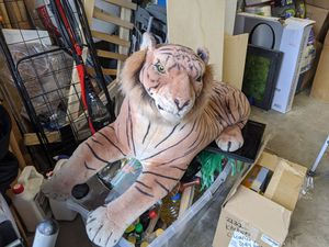 Big stuffed Toy Animal Tiger for Sale in South Gate, CA