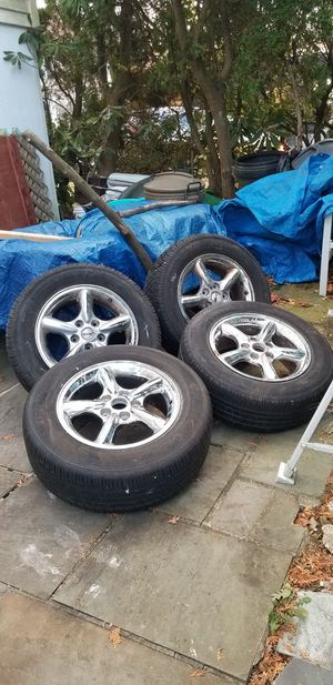 4 - 5x5/5x127 17in wheels Jeep for Sale in Scarsdale, NY