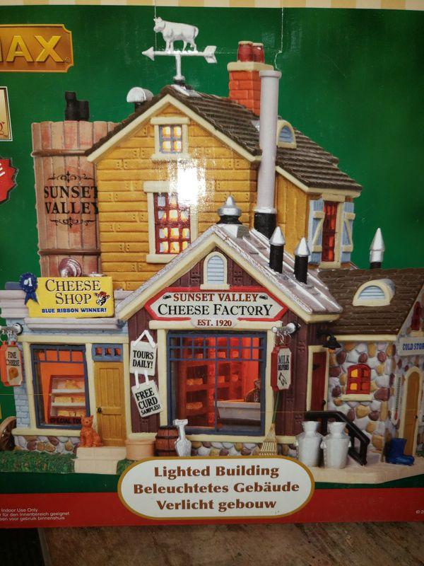 Lemax Christmas village houses