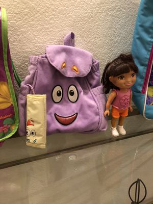 Dora talking doll and backpack!!! for Sale in Fresno, CA