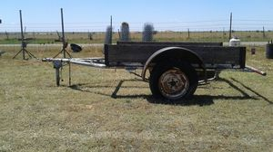 flatbed utility trailer for Sale in Canyon, TX