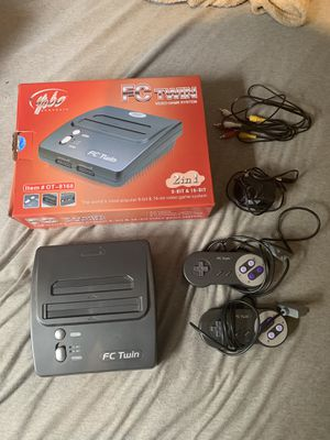 FCTwin Yobo SNES and NES player for Sale in Warrenton, VA