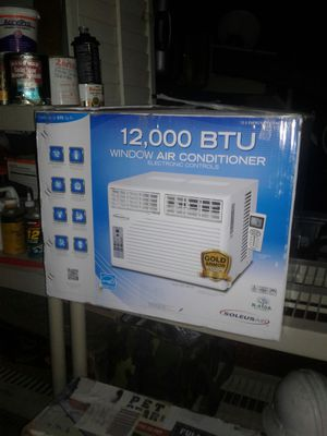 Soleus air 12000 BUT window air conditioner for Sale in Inglewood, CA