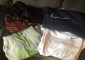 4 size XXL Hoodies 2 Nike 2 Adidas for Sale in Pittsburgh, PA
