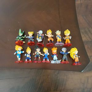 Dragonball Z WCF FIGUREs Lot for Sale in National City, CA