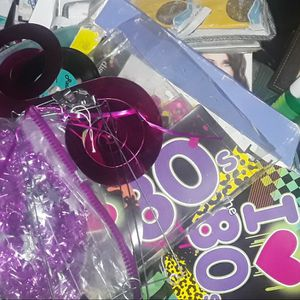 Party Decorations 80s Themed for Sale in West Covina, CA
