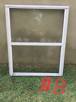 Aluminum white window for Sale in Whittier, CA