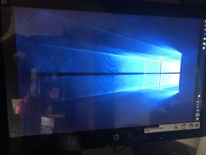 HP All in One Desktop computer Windows 10 TOUCHSCREEN for Sale in Houston, TX