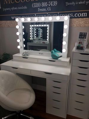 Makeup Vanity set get started for as little as $60 down for Sale in Fresno, CA