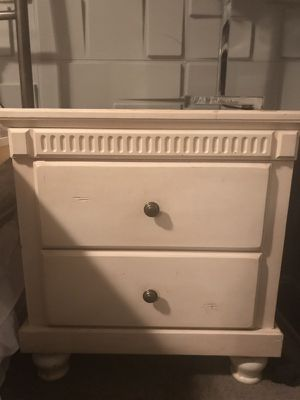 Vintage shabby chic nightstand or end table Chested drawers for Sale in Herriman, UT