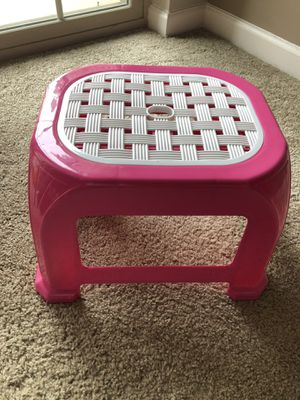 Plastic stool small for Sale in Cranberry Township, PA