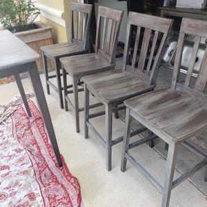 Kitchen table , refinished, farmhouse,high top for Sale in Boynton Beach, FL