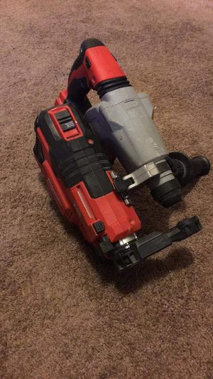 Milwaukee 18v rotary hammer W/hammer vac for Sale in Tacoma, WA