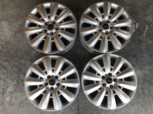"Mini Countryman 18"" pin spoke silver rims wheels for Sale in McGaheysville, VA"