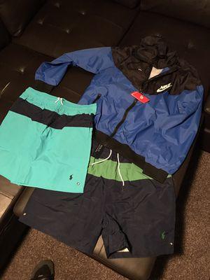 Men RL Shorts & Windrunner for Sale in Houston, TX