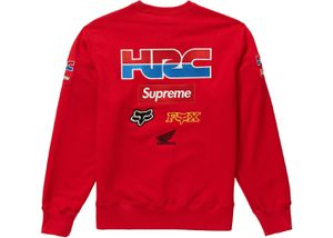 Supreme X Honda Racing company crewneck size large red for Sale in Alexandria, VA