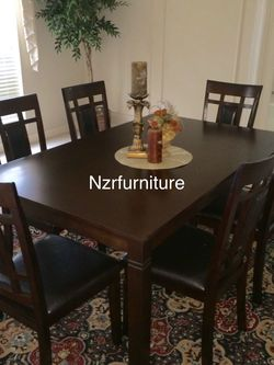 """FIRE 🔥 SALE"" 7-PC Breakfast Kitchen w/ 6 Chairs for Sale in Sugar Land,  TX"