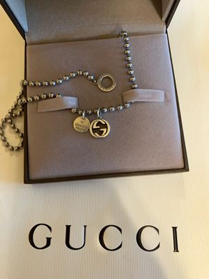 Gucci Necklace ($400 TODAY ONLY!!) for Sale in San Diego, CA