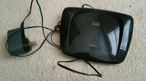 Linksys N Band Router $50/obo for Sale in Severn, MD