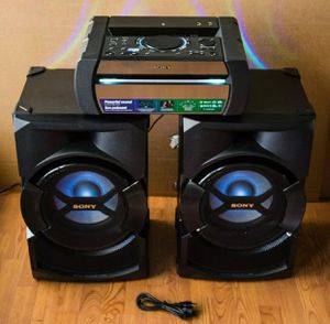 SONY SHAKE-X30 HIGH POWER HOME AUDIO SYSTEM for Sale in Miami, FL