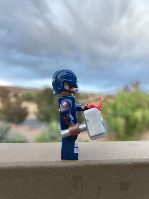 LEGO Marvel Superheroes Minifigures Captain America Avengers MCU Lot Toys
