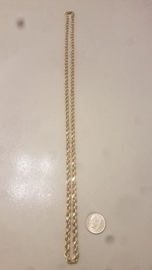 10K Rope Chain for Sale in Austin, TX