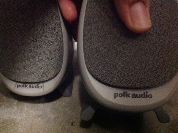 Computer speakers Polk audio