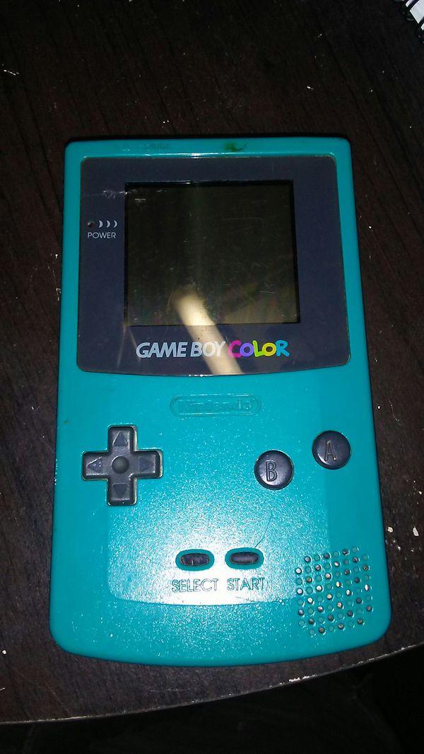 original Nintendo Gameboy Color
