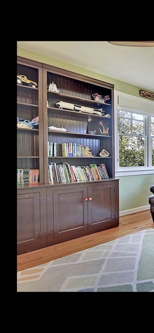 Bookshelves with hutch for Sale in Mercer Island, WA