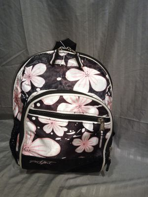 Small Black/Pink Floral Backpack for Sale in Lawrenceville, GA