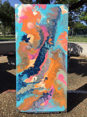 "Abstract ""Swirl"" Art Painting for Sale in Oakland Park, FL"