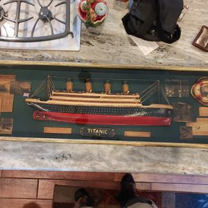 Large Titanic Shadow Box for Sale in Leesburg, VA