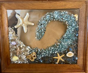 8x10 resin tropical wave for Sale in Port St. Lucie, FL