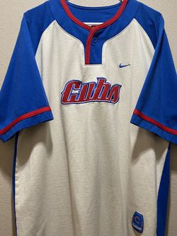 Vintage MLB Baseball Chicago Cubs Nike Team Jersey Mens Size L White Blue RARE for Sale in Covina,  CA