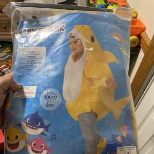 Baby Shark Costume With Sound for Sale in Rancho Cucamonga, CA