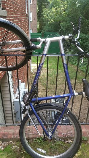 Blue and grey bike for Sale in Rockville, MD