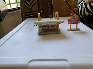Miniature ceramic McDonald's sign and building for Sale in Garden Grove, CA