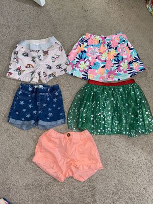 Girls Size 6 Shorts and 1 Skirt all for $3 for Sale in Huntington Beach, CA