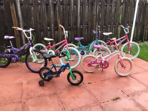 """6 Bikes 12"""" / 16 & 20"""" Riding Good $30 Each OBO for Sale in Lake Worth, FL"""