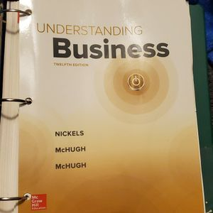 Understanding Business 12th Edition for Sale in La Habra, CA