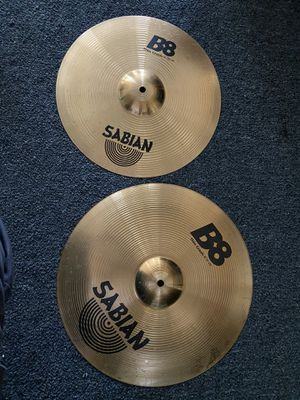 Drum Sabian Cymbals 14 & 16 thin Crash for Sale in Coral Springs, FL