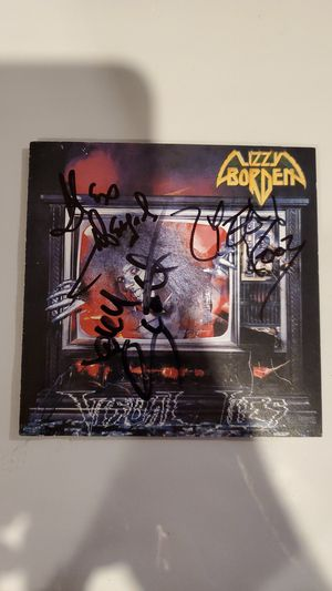 Autographed Heavy Metal Band:80's C.D Cover for Sale in Lockport, IL