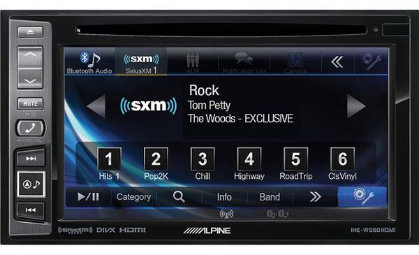 Alpine INE-W960HDMI DVD/GPS Navigation/Car Stereo