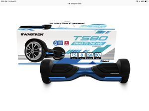 SWAGTRON t580 hoverboard never used open box for Sale in Mount Prospect, IL