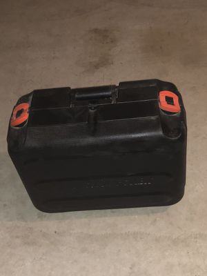 Black and Decker power tool box for Sale in Fontana, CA