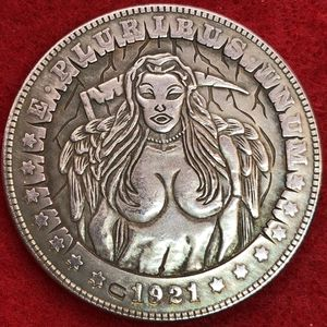 Dark Angel Tibetan Silver Coin. First $20 Offer Automatically Accepted. Shipped Same Day for Sale in Portland, OR
