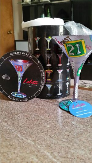 Lolita Martini glass collectable for Sale in Middletown, OH