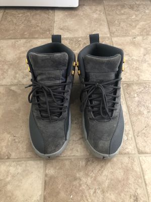 Wolf gray Jordan retro 12's for Sale in Columbia, MD